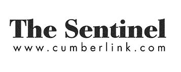 The Sentinel small logog- cumberlink